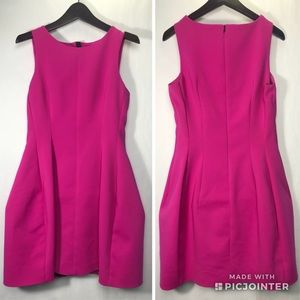 Zara Woman structured fit & flare dress. Small